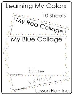 Color collage sheets