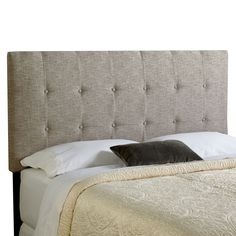 1000 Ideas About Grey Upholstered Headboards On Pinterest