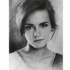 Images and videos of harry potter Girl Drawing Sketches, Portrait Sketches, Art Drawings Sketches Simple, Pencil Portrait, Portrait Art, Drawing Art, Figure Drawing, Harry Potter Sketch, Harry Potter Drawings