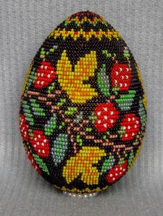 Яйцо хохлома.
