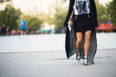Street Style from Paris Fashion Week Spring 2014 Day 2