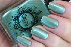 Lovely Bunny, swatched by Lacquered Lori