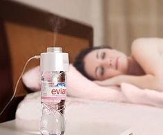 Portable USB Humidifier ( $34.99) : All you to add is a water bottle and you've got yourself a portable humidifier.