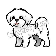 Afbeeldingsresultaten voor cartoon shih tzus dachshund party, i want a puppy, puppy pictures funny Art Drawings Sketches, Cartoon Drawings, Easy Drawings, Animal Drawings, Chien Shih Tzu, Puppy Drawing, Drawing Drawing, Maltese Dogs, Animal Books