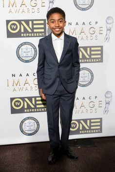 Miles Brown - Check Out the Star Power on the 48th NAACP Image Awards Red Carpet