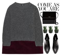 """""""come as you are"""" by evangeline-lily on Polyvore featuring Theory, Uniqlo, Givenchy, HM and uniqlo"""