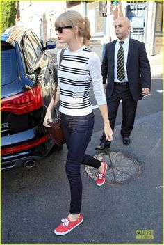 Taylor Swift and Keds Champion Canvas Sneakers