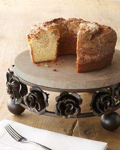 Iron Rose Cake Stand