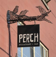 Perch Metal Signs Vancouver Powel-St cool sign