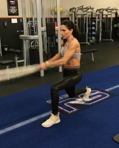 "8,699 Likes, 71 Comments - Alexia Clark (@alexia_clark) on Instagram: ""Full Body Circuit 40seconds on 20seconds rest 3-5 rounds (If you don't have a battle rope you can…"""