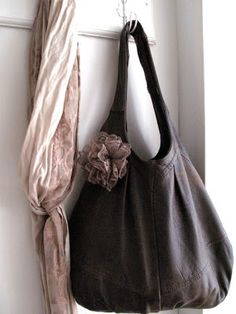 Tini s White Home  Recycling .. Leather Bag Pattern, Sewing Leather, Diy  Handmade 3c381f83bb