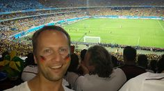 Our lucky colleague Udo from Germany could celebrate the amazing victory of GER against BRA  #selfiesworldwide #fifaworldcup2014 #wm2014 #BRAGER