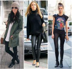 Aprende a combinar tus leggings negros, pues son una prenda de mucha importancia histórica y de suma trascendencia en el mundo de la moda.