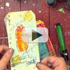 Free How-to Video: Mixed-Media Collage by Christy Tomlinson