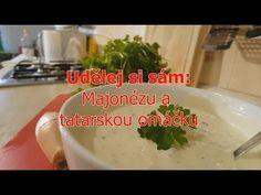 Do it yourself: Mayonnaise and Tartar sauce Tartar Sauce, Samos, Mayonnaise, Grains, Rice, Youtube, Food, Essen, Meals