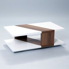 Bianca High-Gloss Walnut Rectangular Coffee Table - Overstock™ Shopping - Great Deals on Matrix Coffee, Sofa & End Tables