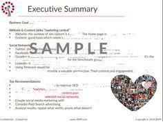executive summary example social media - Cerca con Google