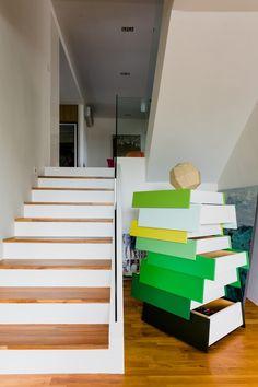 Grange Height, Contemporary Condominium Interior Design, Home Decoration Condominium Interior, Staircase Architecture, Stairs, Contemporary, Interior Design, Decoration, Projects, Home Decor, Nest Design