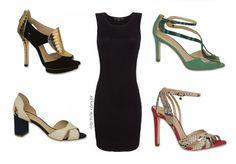 Pretinho Básico - Look vestido + #guilherminashoes