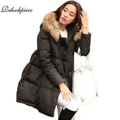 b0fbb8b88a7 Rihschpiece 2017 Winter Plus Size 5XL Parka Women Jacket Long Cotton Padded  Fur Hoodie Coat Jackets