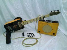 Custom Camacho Cigar Box Guitar & Amp by TexasRattlerCBG on Etsy