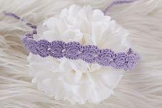 Baby Haarband ⋆ ☆⋆☆⋆Foto-Accessoire  von Lunastern auf DaWanda.com