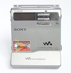 The MD technology was offered by SONY as a substitute for an analog compact cassette. First MD players released in 1992 didn't find the marke...