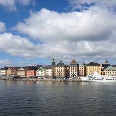Estocolmo con un poquito de sol