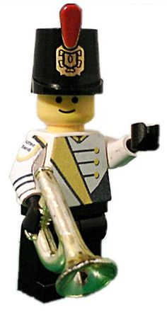 """Custom Lego Minifigs!  Love the """"marching band"""" guy!"""
