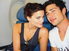 Matt Dallas and Jaimie Alexander. ♥ Love them! :) #KyleXY