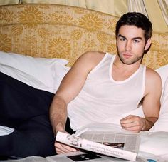 Chace Crawford for Mr Porter's Newspaper
