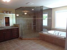 Delightful Beautiful Master Bathrooms