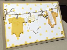 Image result for stampin up baby's first framelits