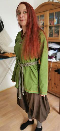 Wikinger Damentunika und Rushose Style, Fashion, Vikings, Swag, Moda, Fashion Styles, Fashion Illustrations, Outfits