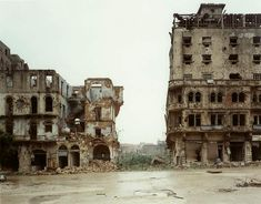 Another image showing the ruins of Lebanon post civil war.