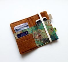 DIY cell phone wallet ideas