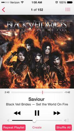 Savior-Black Veil Brides
