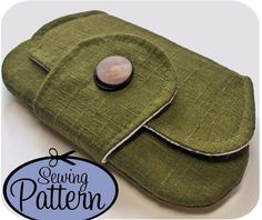 Sewing Pattern to Make a Pocket Clutch  PDF by michellepatterns