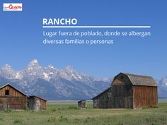 Spanish Word of the Day: RANCHO #Spanish #EnjoySpanish http://www.donquijote.org/spanish-word-of-the-day/word/rancho