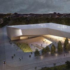 Resultado de imagen para circulacion externa de un museo arquitectura