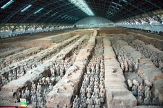 Lonely Planet's top 10 wonders of the world: Terracotta Army, China.