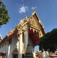 "Ethan na Instagramie: ""Wat Pho #temple"" Wat Pho, Big Ben, Temple, Tower, Architecture, Building, Instagram, Arquitetura, Rook"