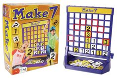 Mathematical skills to win the game number tiles must add up to 7