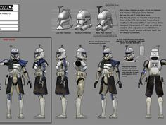 star wars the clone wars bad batch | Darkness on Umbara Concept Art Gallery | Clone Captain Rex...