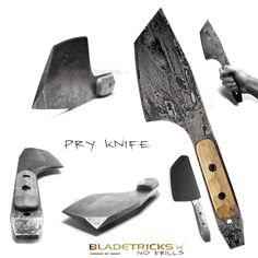 2014 Bladetricks Pry Knife Urban Tool