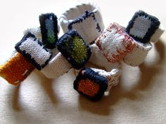 fabric jewelry annekata
