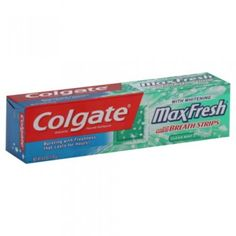 Colgate Maxfresh With Mini Breath Strips Toothpaste, Clean Mint, 6 Oz, Multi Colgate Toothpaste, Pasta, Cavities, Teeth Whitening, Breathe, Saving Money, Personal Care, Cleaning, Fresh