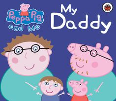 Our NEW hardback #PeppaPig book is the perfect gift for #FathersDay. Choose your child's and Daddy's features to create this funny and heartwarming story.