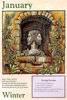 Llewllyn Witches Calendar 2000