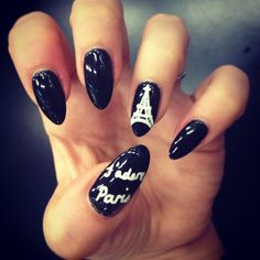 Nail Art for our long weekend away! #bbloggers #nailart #paris http://tmblr.co/ZxNFnwsP4UYM by Lexington Steel